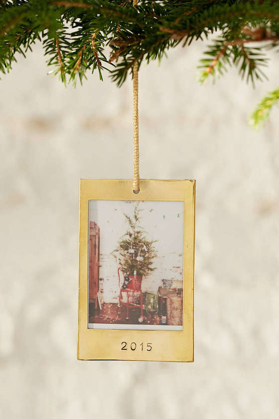 Instax 2015 Frame Ornament