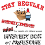 Mini Monthly Mystery Box of Awesome October 2016 Spoiler!