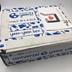 Universal Yums Subscription Box Review – August 2016