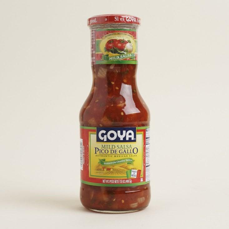 Goya Pico De Gallo Salsa in jar