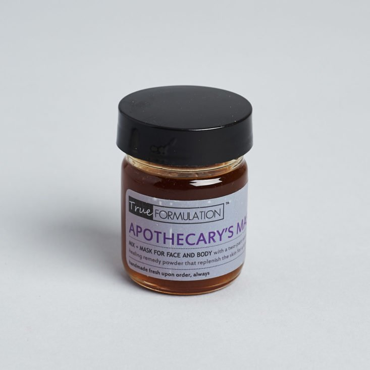 True Formulation Apothecary's Mask