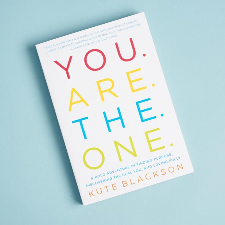 you are the one paperback book