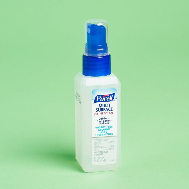 Purell hand sanitizer, front