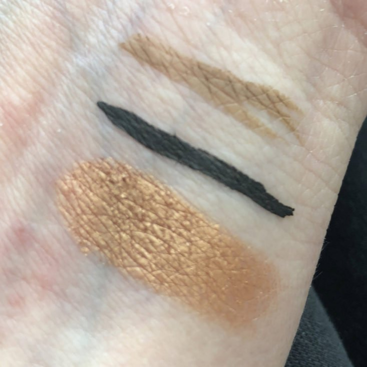 Ipsy January 2018 - swatches
