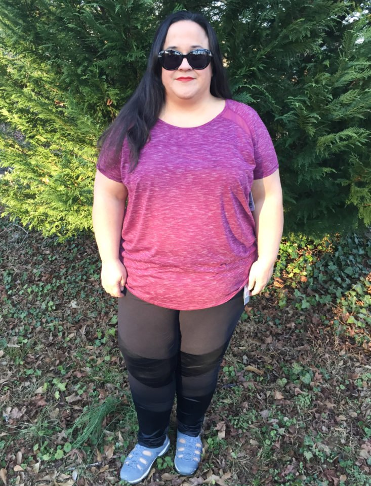 Bailey Tee by Shape Active modeled
