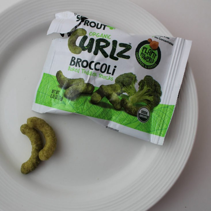 Vegan Cuts Snack January 2018 Broccoli