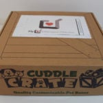 Cuddle Crate Cat Box Review + Coupon – September 2017
