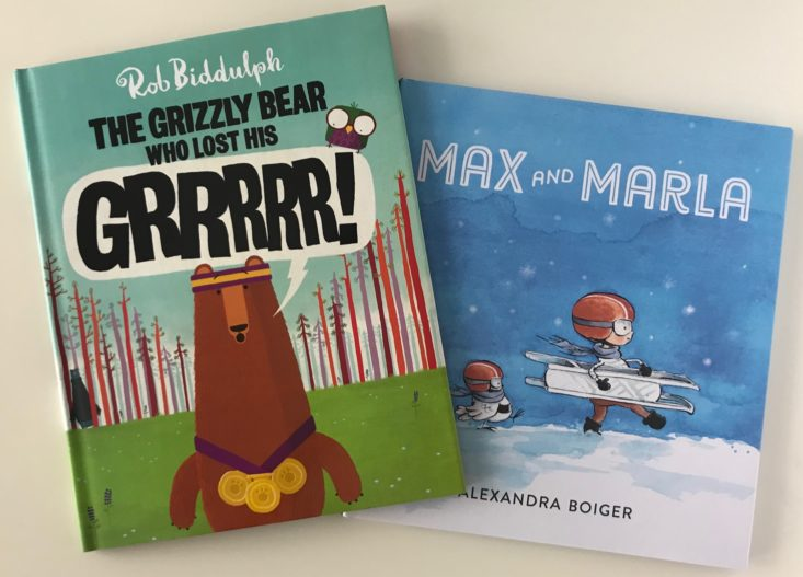 Bookroo Picture Book Box Review- February 2018 review