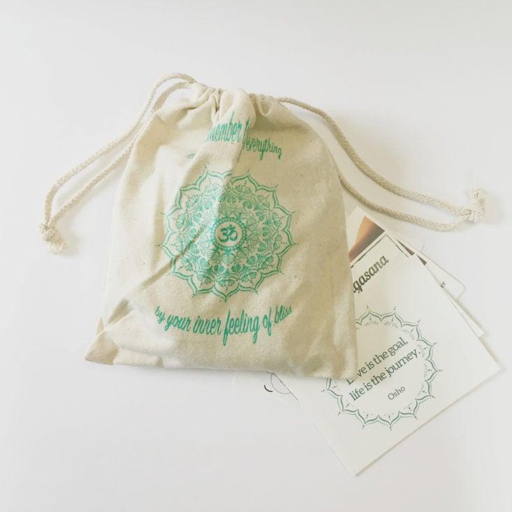 canvas pouch in BuddhiBox