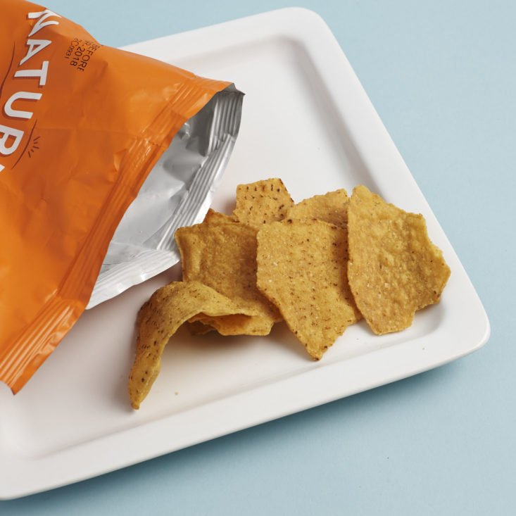 NatureBox Membership February 2018 - 0002 - Sweet Potato Jalapeno Chips Open