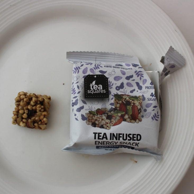 Tea Squares Tea Infused Energy Snack in Acai Blueberry (0.7 oz)