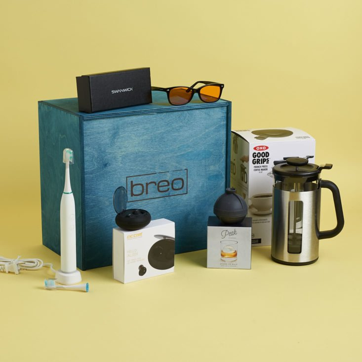 breo box best luxe subscription boxes over $50 of 2019 readers choice