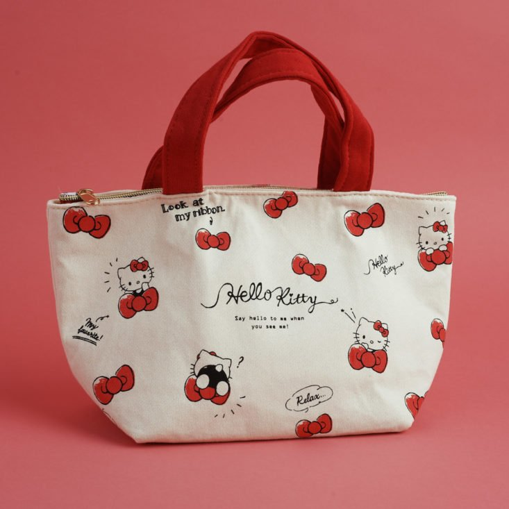 Hello Kitty cotton tote/lunch bag