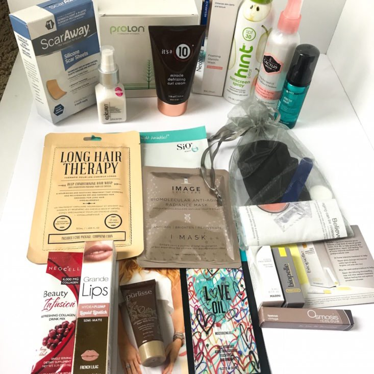 New Beauty Spring Box review