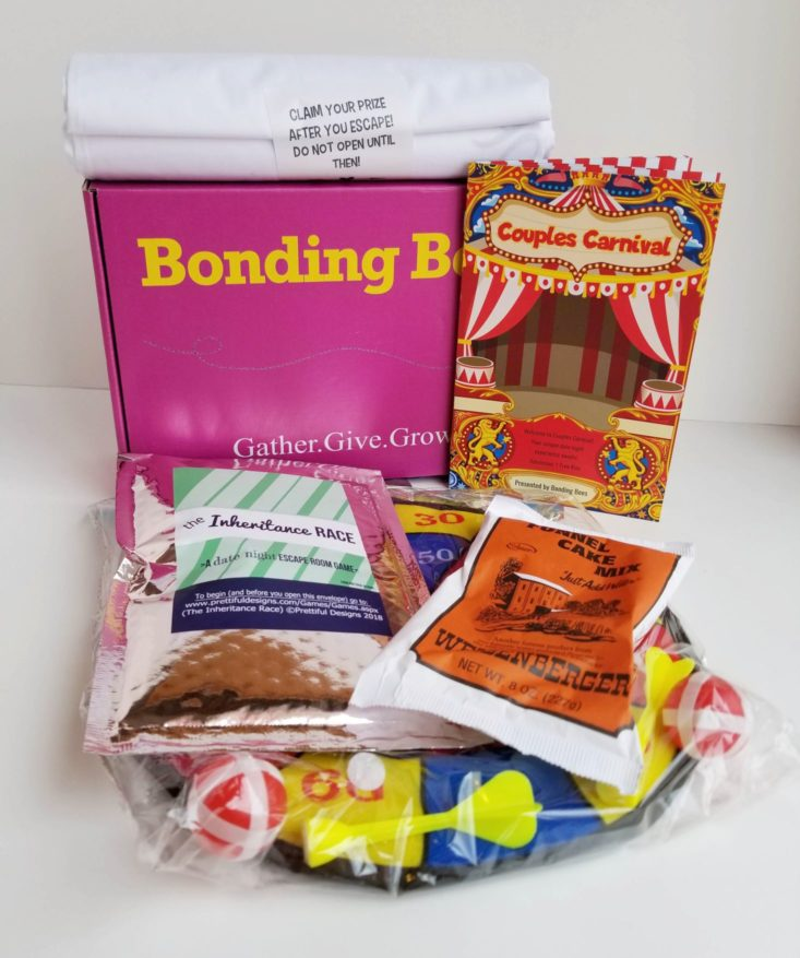 Bonding Bees May 2018 review