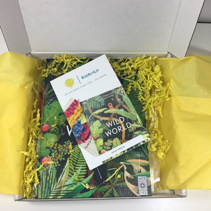 KidArtLit May 2018 Box Interior