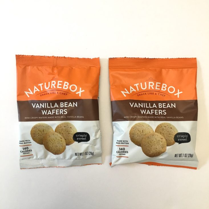Naturebox May 2018 Vanilla Bean Wafers