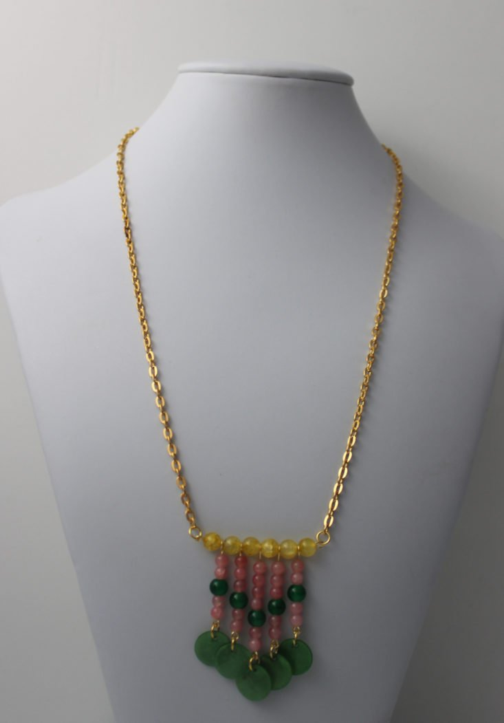 Blueberry Cove Beads May 2018 Necklace