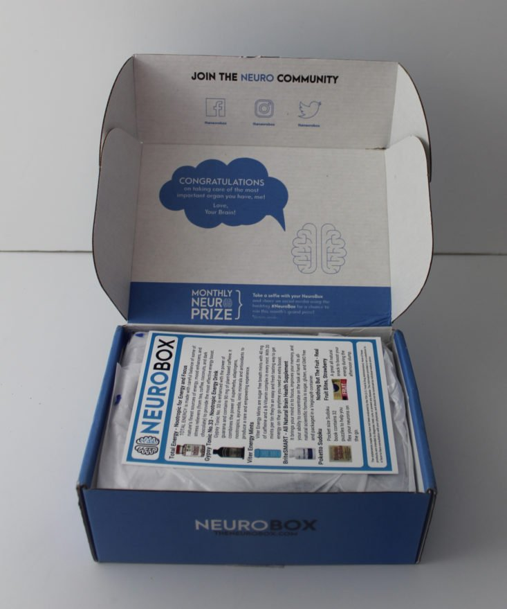 open Neurobox box