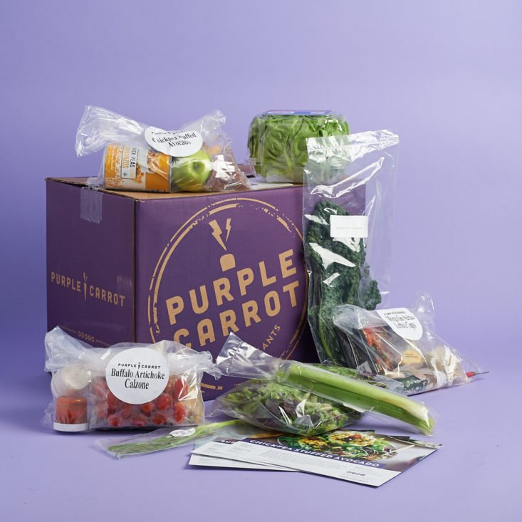 Purple Carrot BEST MEAL KIT SUBSCRIPTIONS 2018