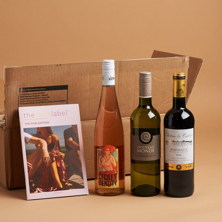 wine awesomeness unboxing may 2018