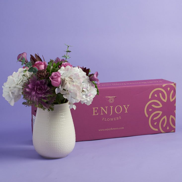 Enjoy Flowers Subscription Box Review