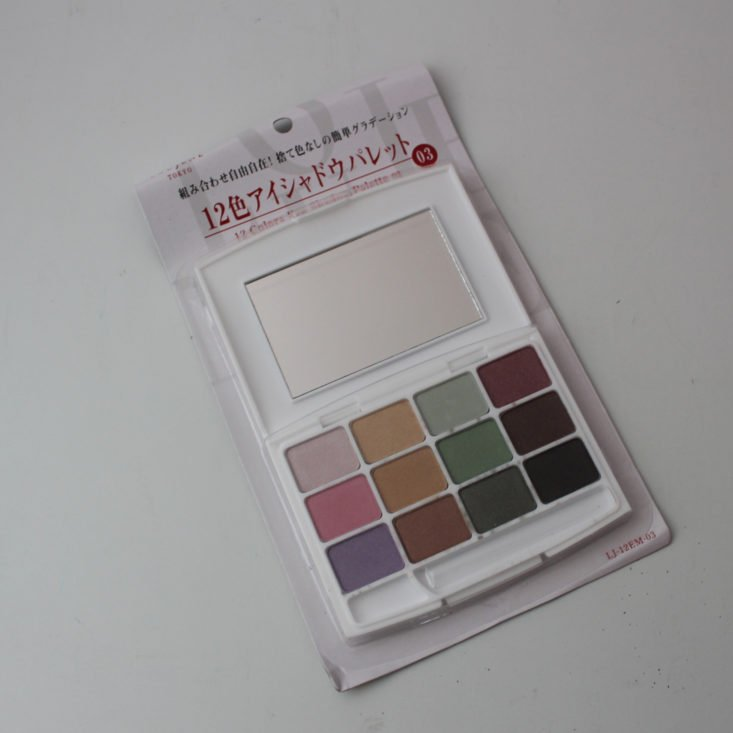 Zenpop Beauty August 2018 Palette 1