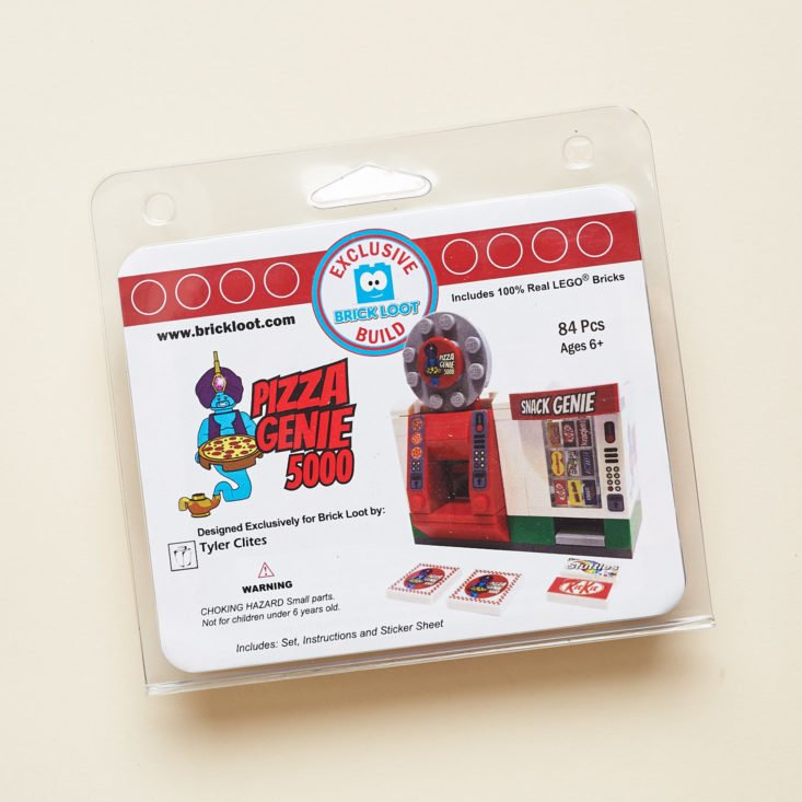 Brick Loot September 2018 - Pizza Genie 5000 Pack Top
