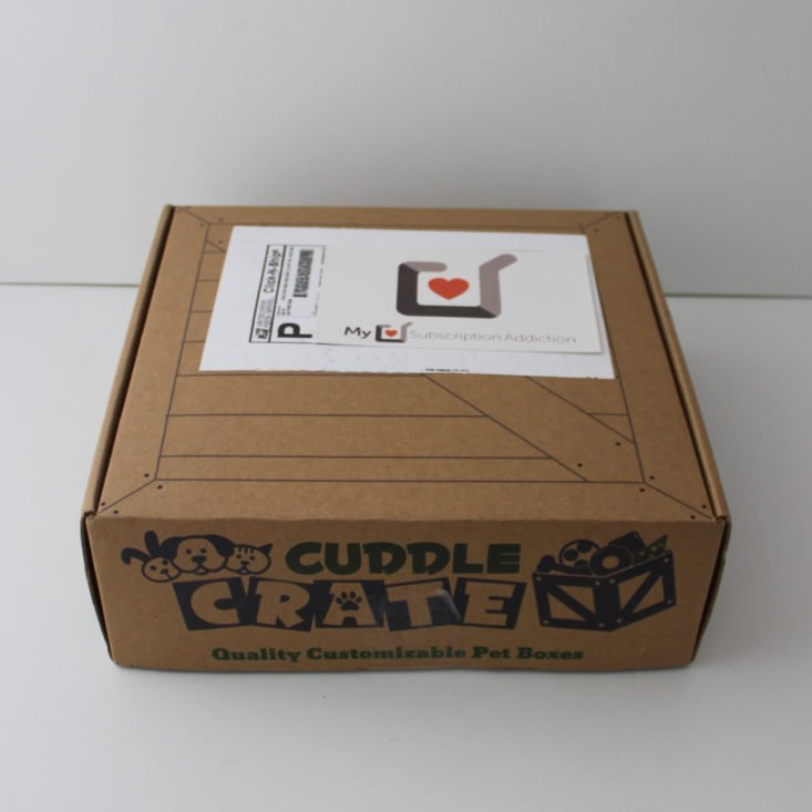 closed Cuddle Crate box