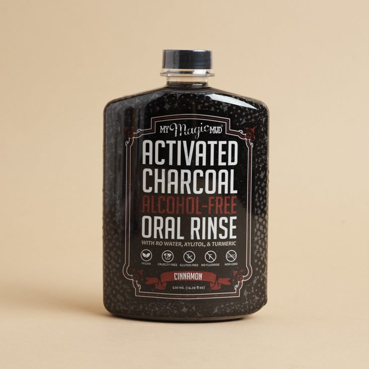 My Magic Mud Activated Charcoal Alcohol Free Oral Rinse