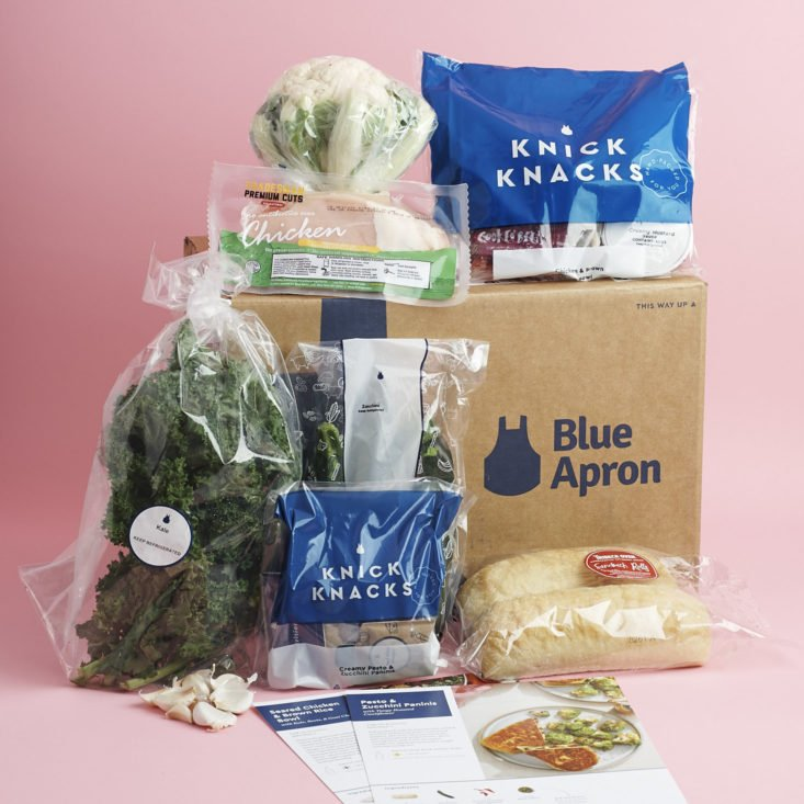 Blue Apron BEST MEAL KIT SUBSCRIPTIONS 2018