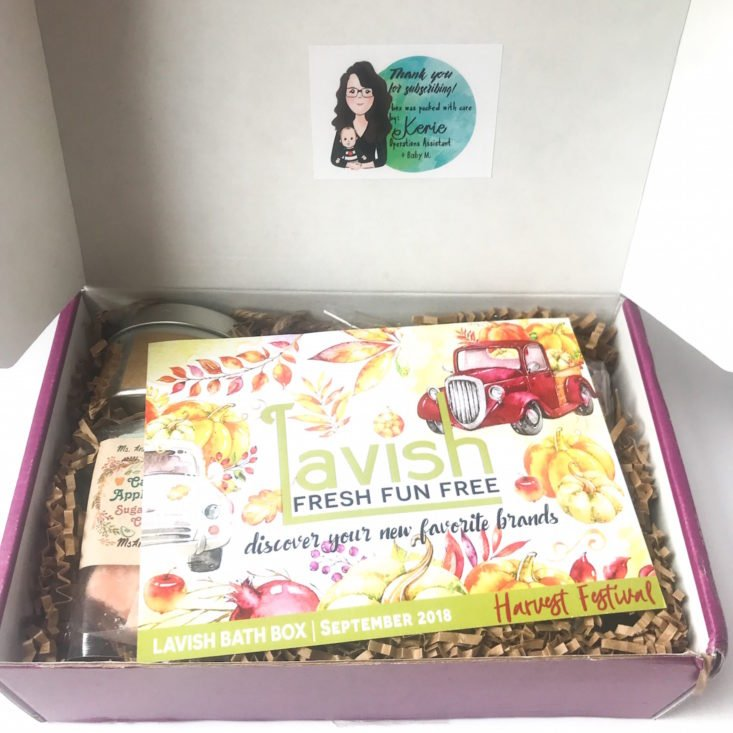Lavish open box 1