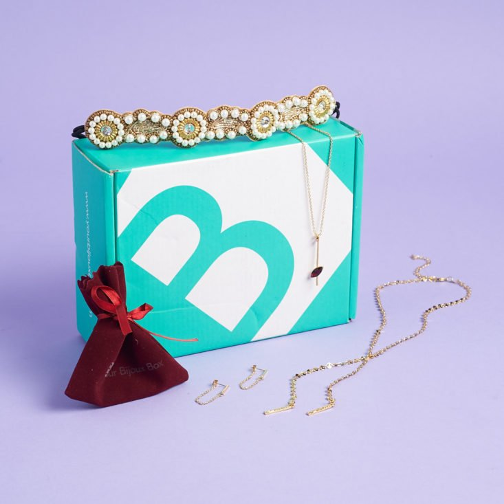 your bijoux box unboxing and review