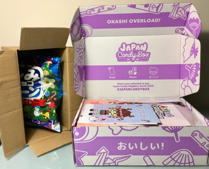 Japan Candy Box December 2018 - Extra Box Front