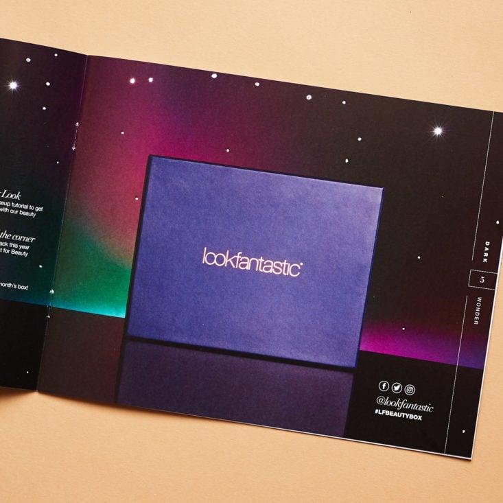 Look Fantastic November 2018 booklet box picture