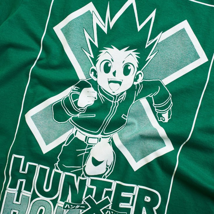 Loot Anime Search hunter tshirt detail