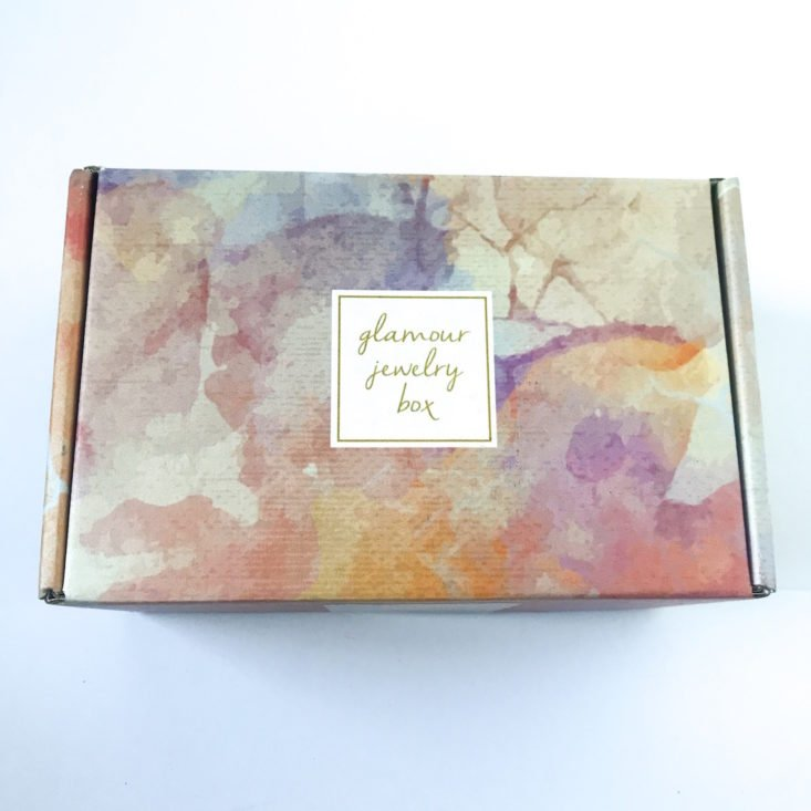 Glamour Jewelry Box December 2018 - Box Review Top