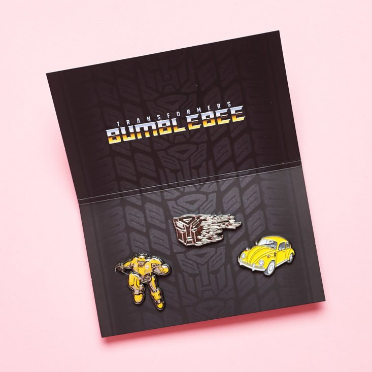 Loot Crate Scavenge December 2018 - Bumble Bee Pins 2