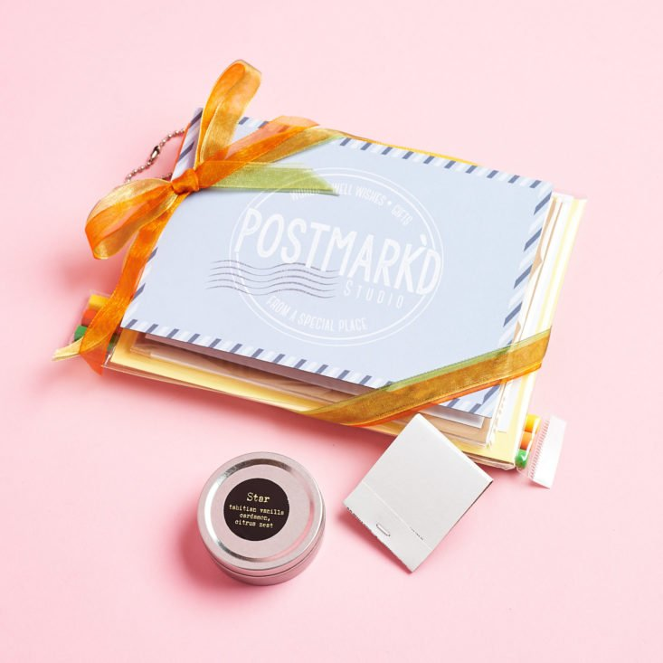 Postmarkd Studio January 2019 packaging