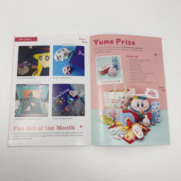 "YumeTwins January 2019 ""Happy Zoo Year"" - Booklet 4"