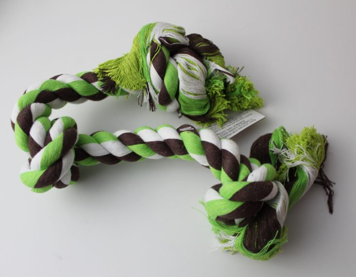 Bullymake Box Review February 2019 - Bullymake 3-Knot Rope Toy Top