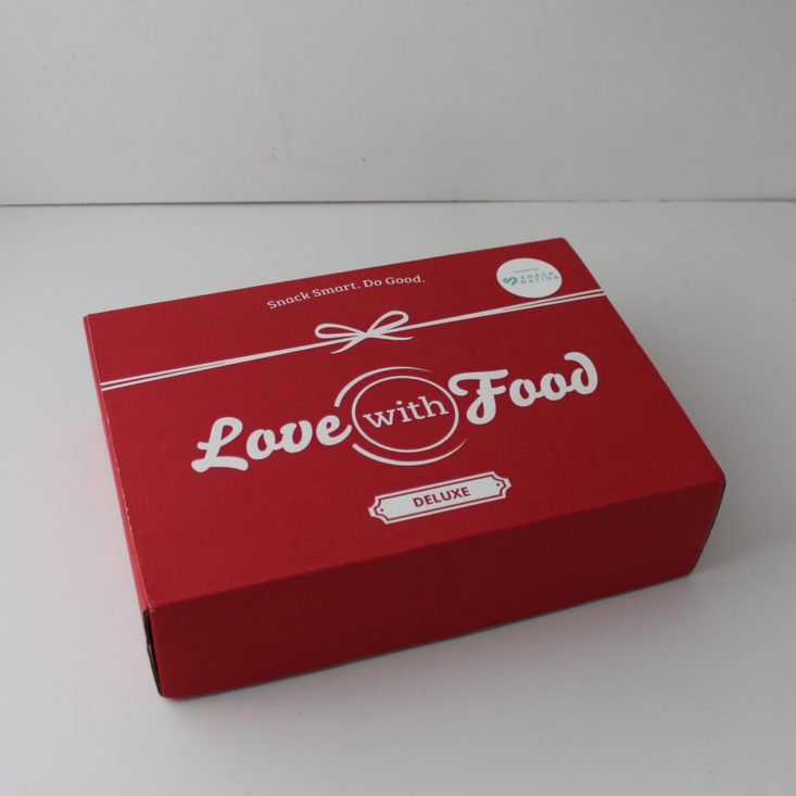 Love with Food March 2019 - Box Top