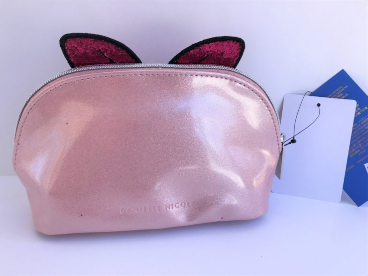 The Mouse Merch Box March 2019 - Danielle Nicole Handbags Daisy Cosmetic Bag Back