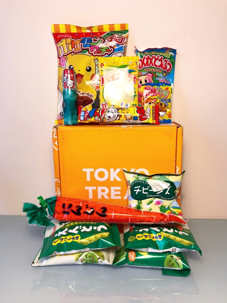 Tokyo Treat March 2019 - Box All