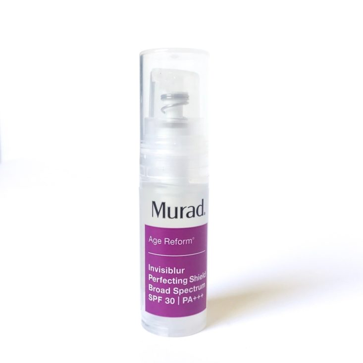 Sephora Sun Safety Kit April 2019 - Murad Invisiblur™ Perfecting Shield SPF 30 PA Front