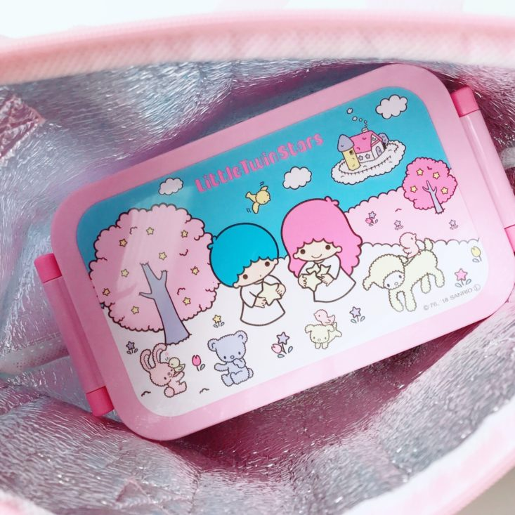 Sokawaii March 2019 - Lunch Bag My Melody Withbento
