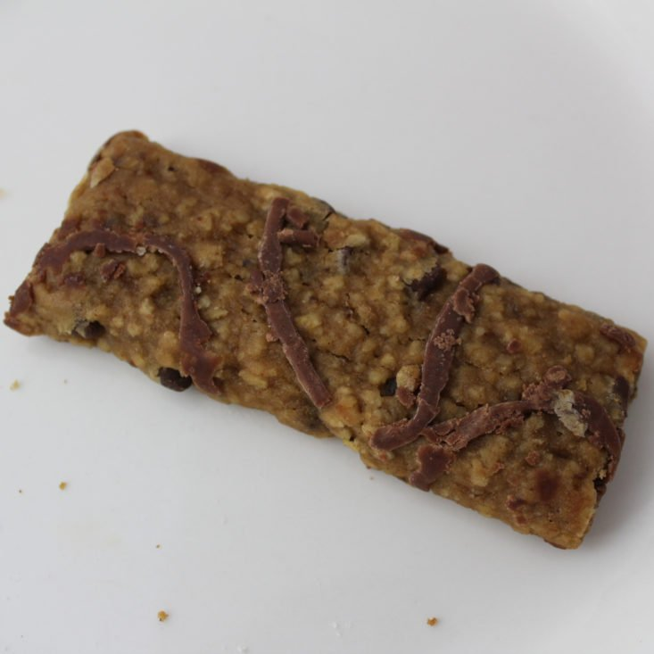 Love with Food May 2019 - Appleways Chocolate Chip Simply Wholesome Oatmeal Bar Open Top