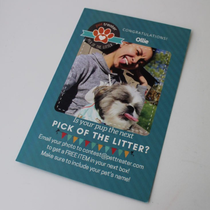 Pet Treater May 2019 - Booklet Front