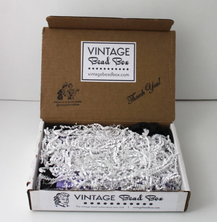 Vintage Bead Box May 2019 - Inside