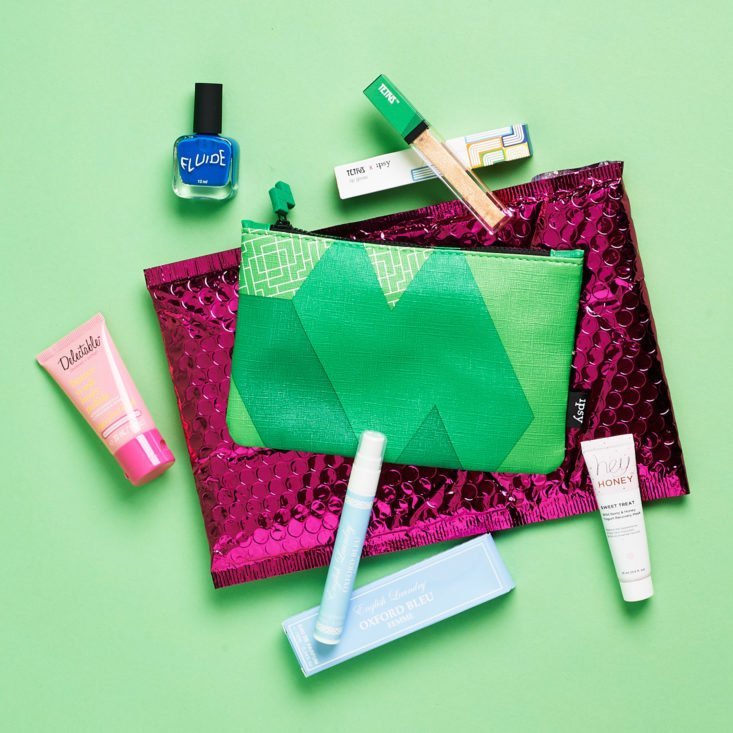 Ipsy June 2019 beauty subscription box review all contents
